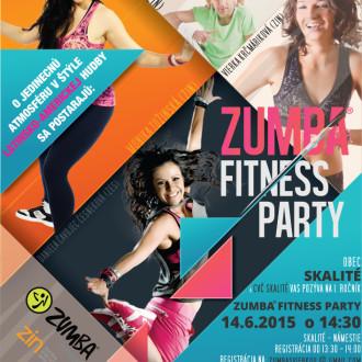 Zumba Fitness párty v júni v Skalitom